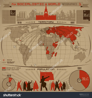stock-vector-socialistic-world-infographics-of-increasing-the-number-of-socialist-people-countries-territory-204015286